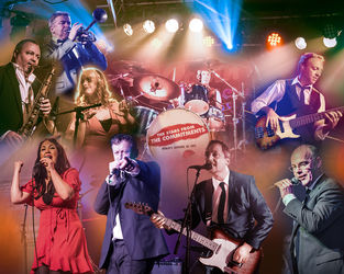 The Stars of the Commitments - Collage